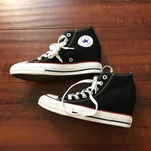 98b985661dd Converse Shoes - Converse Chuck Taylor All Star lux wedge mid NWOT